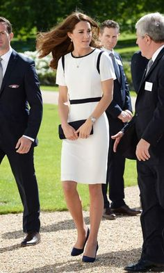 Kate Middleton dazzles in discounted Jaeger dress
