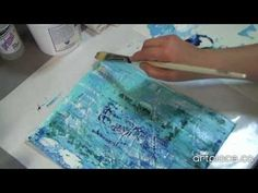 Engraving with Gesso #2 this is an amazing video, watch it! Can't wait I use some of these ideas for my art journal