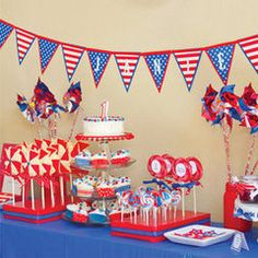 Fourth Of July Birthday Party Ideas Bbq 4th Parties