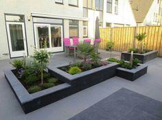 Nice for the front garden - gartenanlage - Garden Deck Planting Shrubs, Garden Shrubs, Garden Paths, Garden Beds, Back Gardens, Small Gardens, Indoor Garden, Outdoor Gardens, Rooftop Garden