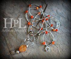 Image of Carnelian Necklace long
