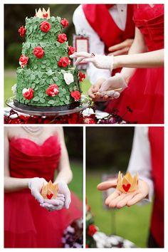 Le mariage de la Reine de Coeur
