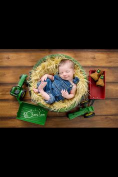 Wish I would have thought of this before Ty was born, but I never knew he would be such a tractor man