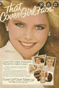 Cart Cover, Christie Brinkley, Covergirl, Supermodels, Face, How To Make, Movies, Movie Posters, 1980s
