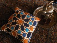 Needlepoint tapestry kit. 'ISFAHAN'. by SquareDotNeedlepoint