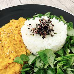 Curry de lentilles corail à la crème de coco - 7 SP WW