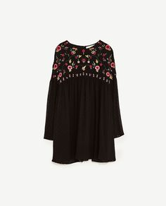Image 8 of PLUMETIS EMBROIDERED JUMPSUIT from Zara