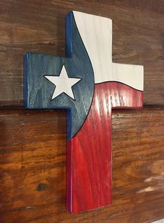 Measures: 12.25×8.25 Solid Ash Oil stained The Lone Star represents all people united for one God, Country, and State.