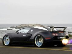 Buggati Veyron #no jet required when the jet engine sits behind you and has 1000hp +