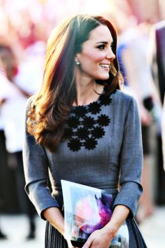 Kate Middleton is the epitome of high class.