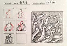 Octoleg~Zentangle