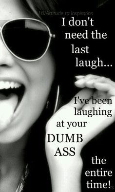 Word! I hate you don't see just how silly you are. Pathetic, even?! Bless your heart, and God knows I mean that, truly!