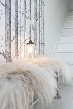 pinned by barefootblogin.com  * s t a i r c a s e *wall paper sheep