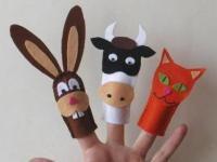 3 Marionnettes en feutrine à doigts à faire avec les enfants !