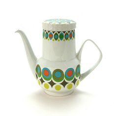 I've got this pot in my collection -Mid-Century Modern Coffeepot - Jodi Jo Retro