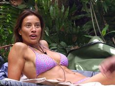 nipples - Google Search Melanie Sykes, Hollywood Celebrities, Celebrity Pictures, Bikinis, Swimwear, Naked, Celebs, Singer, Bikini