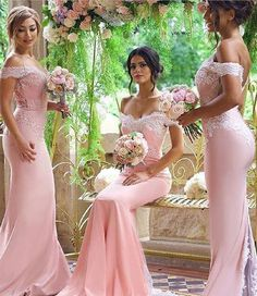 mermaid bridesmaid dresses,pink bridesmaid dresses,long bridesmaid dresses,lace bridesmaid dresses