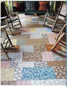 13 Best Vintage Flooring Images In 2017 Linoleum