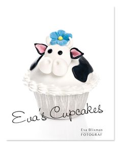 Cow Cupcake