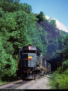 RailPictures.Net Photo: SBD 8545 Seaboard System EMD SD50 at Appalachia, Virginia by Ron Flanary