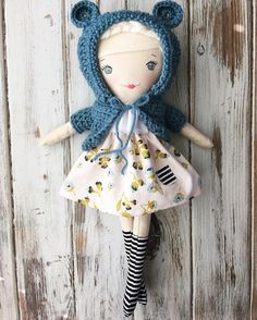 Cutest handmade cloth dolls!  SpunCandy Dolls   See this Instagram photo by @spuncandydolls • 210 likes