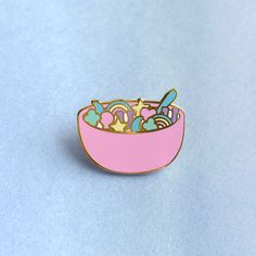 The product Lucky Charms Lapel Pin is sold by Kristin Carder Shop in our Tictail store.  Tictail lets you create a beautiful online store for free - tictail.com