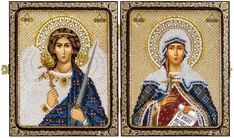 CE7206 The Great Martyr Tatiana of Rome & Holy Guardian Angel