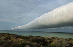 rolling clouds | roll cloud, morning glory cloud, tube cloud, rare cloud…