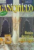 Ganchillo Artistico No 370   Crocheted curtain, doilies, bedspread, etc. All charted.