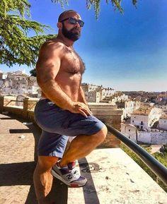 #Muskeln #Bart #behaart #Kerl #Sexy #Jeans