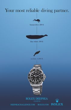Deepsea Sea-Dweller Advertisement