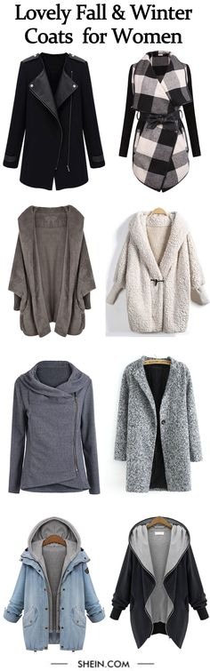 The most cute fall/winter coats collection for women.