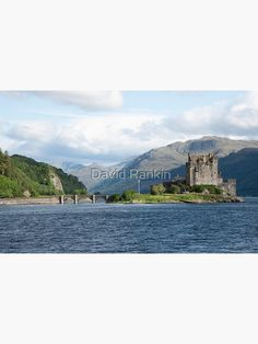 """Eilean Donan Castle, Scotland"" Poster by goldyart Eilean Donan, Scotland Castles, Scottish Highlands, Blank Walls, David, Studio, Prints, Poster, Travel"