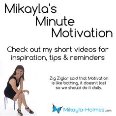 Turn Fine into Fabulous Turn your life from fine into fabulous. Are you stuck and settling for life instead of living it? I am here to help with my Mikayla's Minute Motivation which I just created. #Mikayla'sMMotivation http://mikayla-holmes.com
