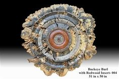 Dave Barkby Wooden Wall Sculptures - Image Gallery - Buckeye Burls