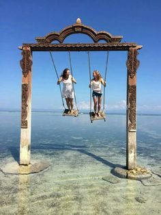 This is on Gili Trawangan!!