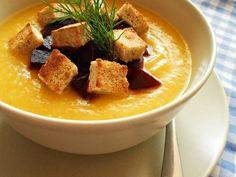 5 meniuri pentru un pranz cu putine calorii Thai Red Curry, Soup, Ethnic Recipes, Cream, Soups