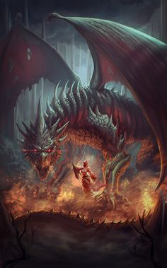 Reality is just an opinion Smaug Dragon, Red Dragon, Baby Dragon, Fantasy Dragon, Fantasy Armor, High Fantasy, Fantasy World, Mythical Dragons, Dragon Pictures