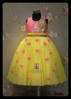 20 Ideas For Birthday Outfit For School Awesome Kids Party Wear Dresses, Kids Dress Wear, Kids Gown, Dresses Kids Girl, Kids Wear, Girl Outfits, Baby Dresses, Baby Frocks Designs, Kids Frocks Design