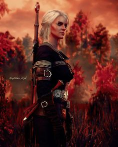 Witcher 3 Art, Ciri Witcher, The Witcher Game, Witcher 3 Wild Hunt, League Of Extraordinary, Video Games Girls, Cool Cartoons, Fantasy Artwork, I Fall In Love