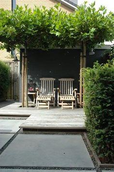 ideas for backyard porch ideas concrete patios yards Concrete Patios, Modern Landscaping, Backyard Landscaping, Outdoor Rooms, Outdoor Gardens, Landscape Design, Garden Design, Gazebos, Backyard Shade