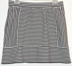 """Madewell Striped Mini Skirt. This Madewell Striped Mini Skirt was voted """"Most Flattering Fit"""" by Tradesy members! Get it before it's gone at Tradesy, where savings rule."""