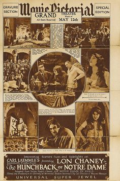 The Hunchback Of Notre Dame - Movie Pictorial