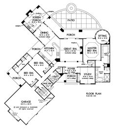 Search house plans from the Donald Gardner portfolio of custom home designs. The best home plans since Custom modification to all floor plans available. Craftsman Ranch, Craftsman Style House Plans, Ranch House Plans, Dream House Plans, House Floor Plans, Home Design Plans, Plan Design, Best Home Plans, Rm 1