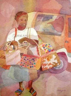 Bahama Mama, painting by artist Kay Smith
