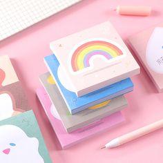 Cute Stationary School Supplies, Cute School Supplies, Office Supplies, Korean Stationery, Cute Stationery, School Accessories, Kawaii Accessories, Simple Canvas Paintings, Cute Pens