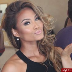 Her makeup is perfect!