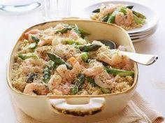 Shrimp Scampi with Asparagus Casserole...this link works