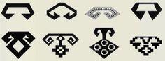 Ram's Horn - このモチーフは、豊穣、英雄的行為、力、男らしさの象徴として使われています。またこれらはボイヌズル・ヤニス、ボイヌズル、コクル・ヤニス、ゴズル・コク・バシとも呼ばれています。アフヨン産のキリム、アルダハンカルス産のキリム、アドゥヤマン産のジジムヘイベ、オルターカンキリ産のキリム、エラズー産のキリム、ミラス-ムーラ産の敷物、コンヤ産のキリム、カフラマンマラシュ産のキリムといったいくつかの例を下に掲載しました。