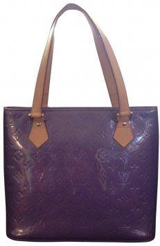 Louis Vuitton Purple Tote Bag $643